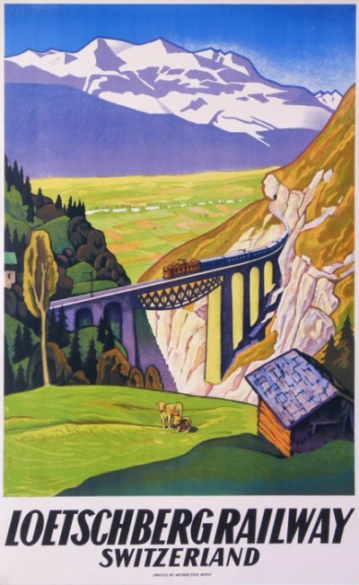 For sale: LOETSCHBERG RAILWAY SWITZERLAND-SUISSE