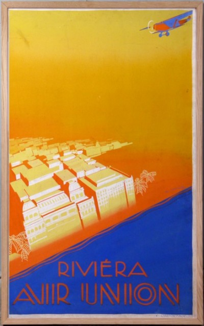 For sale: AIR UNION RIVIERA PROJET D'AFFICHES