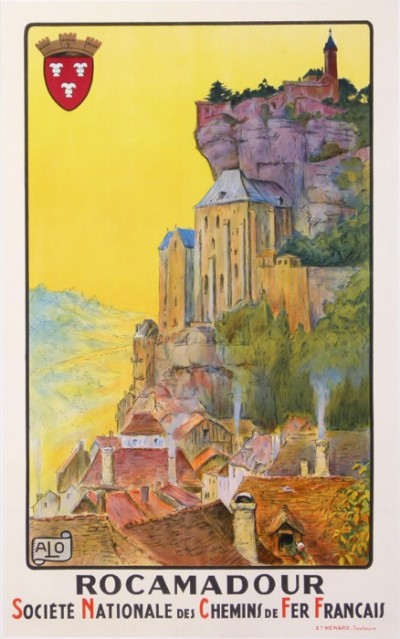 For sale: ROCAMADOUR SOCIETE NATIONALE DES CHEMISN DE FER FRANCAIS