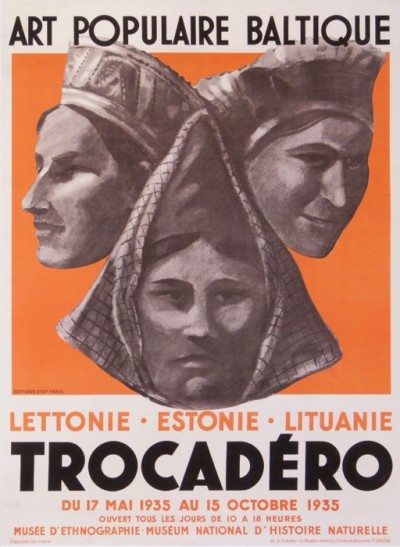 For sale: ANONYME ART POPULAIRE BALTIQUE TROCADERO