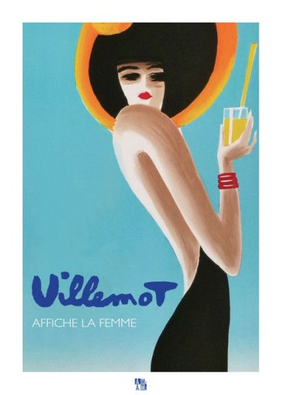 For sale: AFFICHE OFFICIELLE  DE L'EXPOSITION VILLEMOT AFFICHE LA FEMME