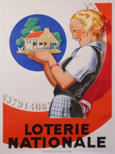 For sale: LOTERIE NATIONALE