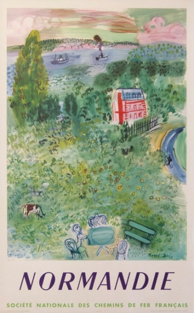 For sale: RAOUL DUFY  SNCF NORMANDIE