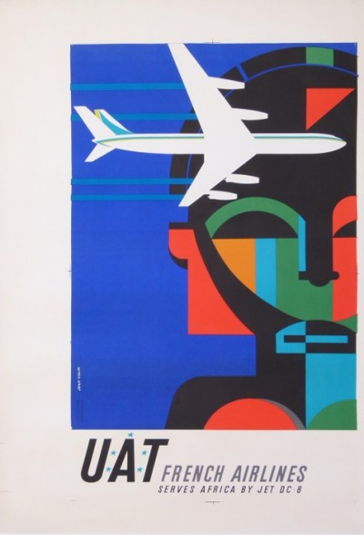 For sale: UAT  FRENCH AIRLINES SERVICES AFRIQUE BY JET DC 8