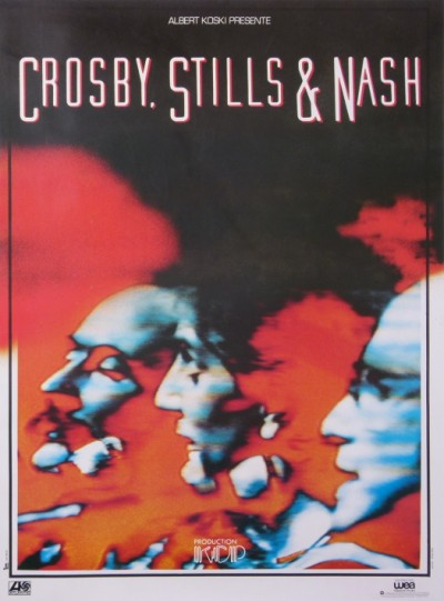 For sale: CROSBY STILLS AND NASH PRESENTÉ PAR ALBERT KOSKI  KCP PRODUCTION