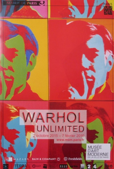 For sale: WARHOL UNLIMITED PARIS 2015 MUSEE ART MODERNE
