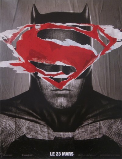 For sale: BATMAN V SUPERMAN Grand modèle  AFFICHE STREET ART  VARIANT 1