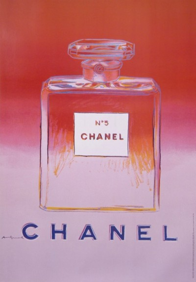 For sale: ANDY WARHOL CHANEL No 5  RED AND PINK - ROUGE ET ROSE