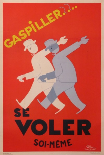 For sale: GASPILLER SE VOLER SOI-MEME