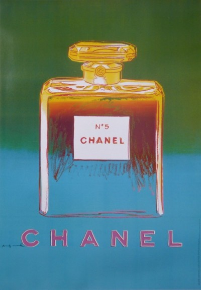 For sale: CHANEL No 5 vert bleu